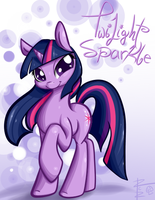 Twilight Sparkle Print by RCR-Lemontwist