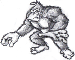 Sketchy DK by MKsBigBrother