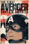 Captain America Retro Poster by AiDub