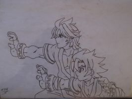 desenhos TH JIN and LUCIAN by NEOcraver