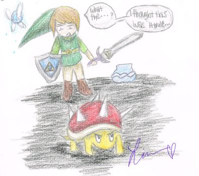 I Dont Think Were in Hyrule Anymore... by ParamoreFreak1878