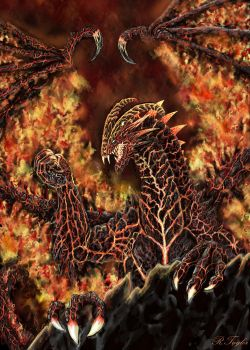 Wyrm of Fire by Ruth-Tay