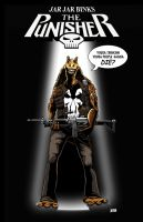 Jar Jar Binks: Punisher by Theamat