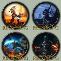 Kingdoms of Amalur: Reckoning Icons by kodiak-caine