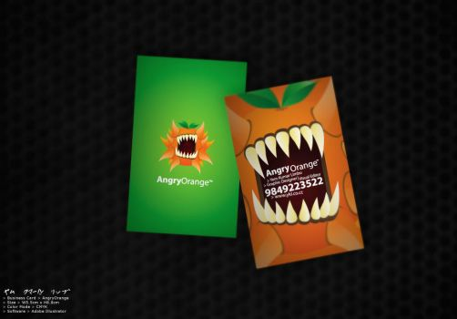 angry-orange-business-card by ykl