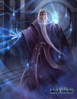 Wizard Character Illustration by BABAGANOOSH99