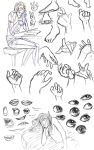 Hand study and others. by EmpressShizuka