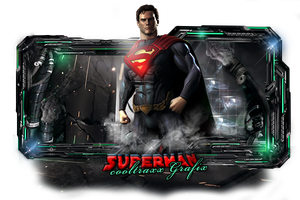 Superman by cooltraxx