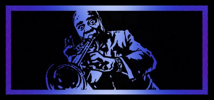 LOUIE ARMSTRONG by TaylorGarrity