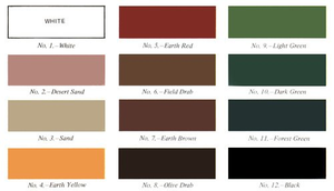 Camo Colors by Writer-Colorer