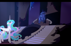 To Many Memories: LUNAS REPLY WIP by JazzyBrony