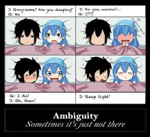 Ambiguity: Gruvia week 2014 by Chsabina