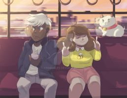 Deckard Bee And Puppycat