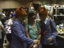 Me and the Hitachiin Twins by chibivampire1997