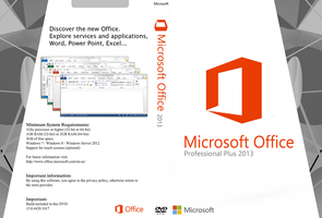 Cover Microsoft Office Professional Plus (EN-US) by GustavoVS