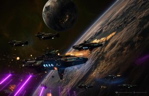 The Red Fleet Over Vega by DawnofVictory2289