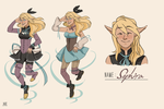 Sephira innkeeper outfits by HEARTZMD