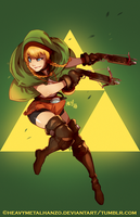 Hyrule Warriors-Linkle by HeavyMetalHanzo