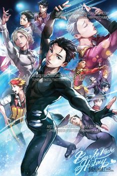 Yuri on Ice - BORN TO MAKE HISTORY! by yanimator