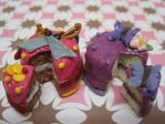 Pirate and Butterfly Cakes by WaterGleam