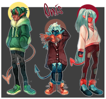 Collab Adopts with Bemkesh [Auction - Closed] by sandflake-adoptables