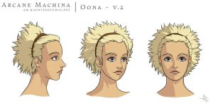 Oona v.2 by HaloGhost