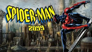 Spider-Man 2099 poster by stick-man-11