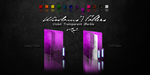 Violet Windows 7 Folders by Drawder