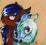 Blue and Greeny by ScootieGP