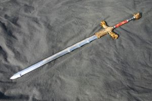 Lion knight great sword by DragonArmoury