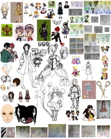 Doodle Dump 2012 by lavenly