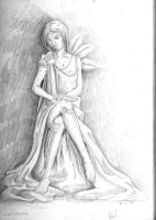 My Drawing Pencil I AM WAIT FOR DIE by 08-Uchimata