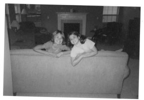 Me and sister two years ago by livy1023