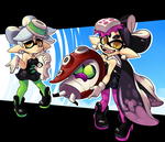 Squid Sisters by Coonstito