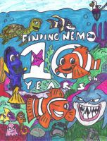 Finding Nemo by SonicClone