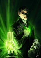 Dr. Jose Rizal - Green Lantern by eko999