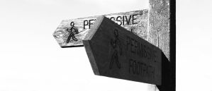 Permissive Footpath by graphic-rusty