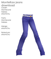 MonteKao Jeans DL by nyoomy