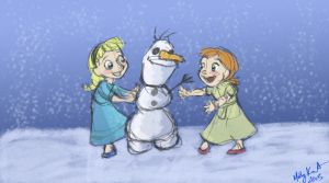 Do You Wanna Build a Snowman? by MarikoRose
