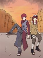Comission: Gaara's true love ? by lalumier