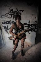 Quiet Cosplay Metal Gear Solid V by lucyrose3