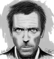 Familiar Faces 1/100 - Hugh Laurie by NoxPsycho