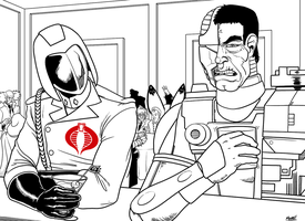 Stream - Cobra Commander and Doc Terror by SeanRM