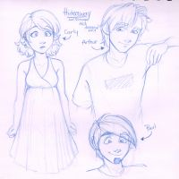 Sketchbook - Hideaway Characters by irishgirl982