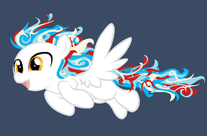 America pegasi adopt -OPEN- (BACK UP FOR ADOPTION! by Equinoxthealicorn