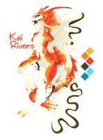 [Auction] Koi Rivers [Closed] by Seoxys6