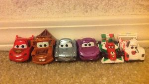 My Cars AppMATes toys by Prince5s