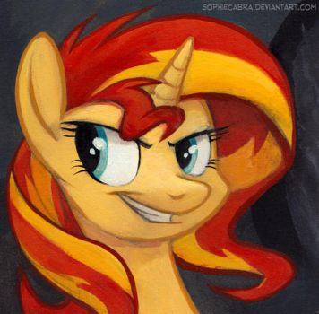 Square Series - Sunset Shimmer by SpainFischer