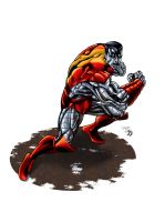 Colossus Colored by BDStevens