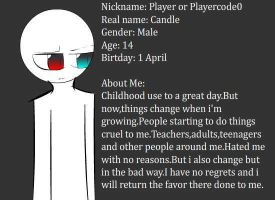 Me by playercod